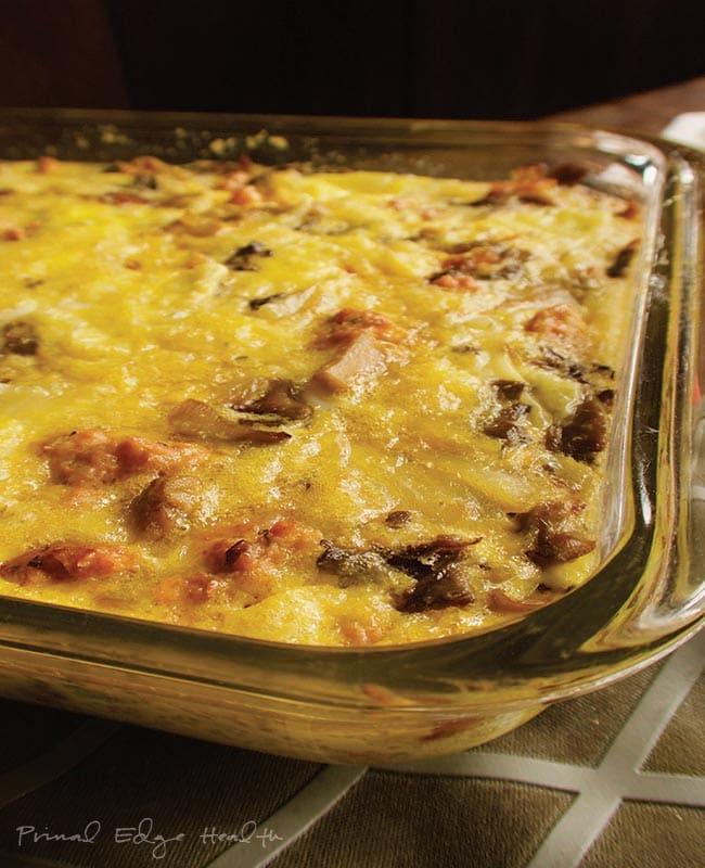 easy low carb keto breakfast casserole