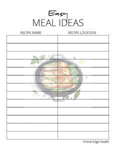 printable KETO meal planner 4