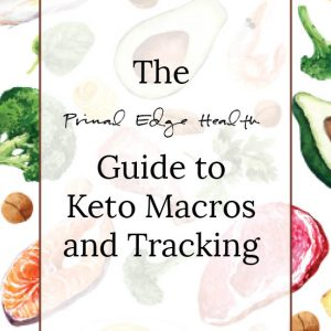 Guide to Keto Macro and Tracking cover