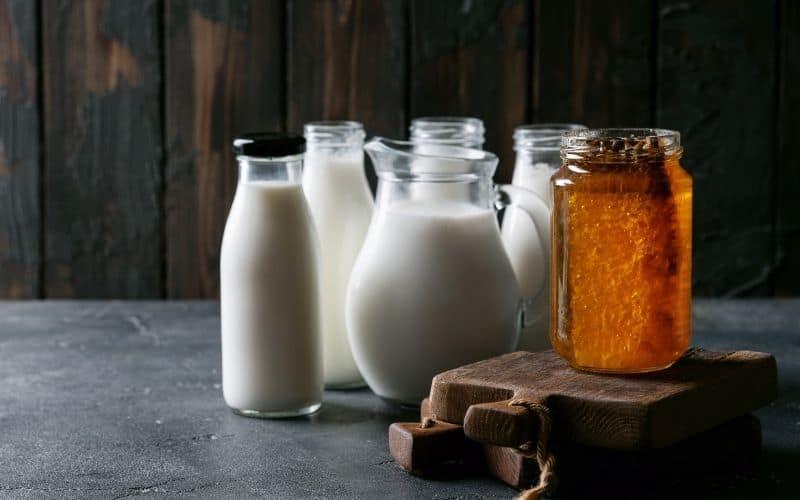 milk honey carnivore carbs