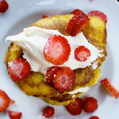 strawberry pan 12 ketogenic pancake recipes