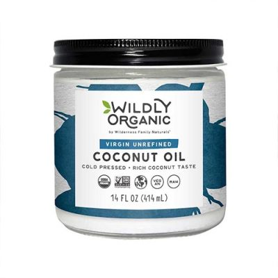 wildly organic coconut oil product image