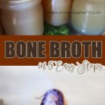 easy beef bone broth recipe