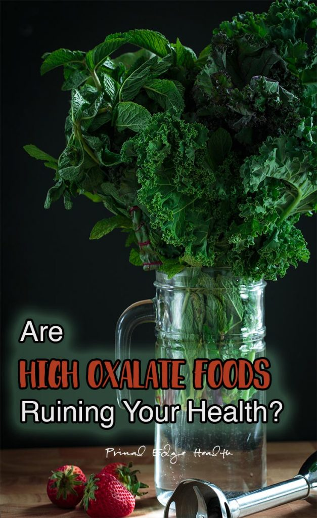 High & Low Oxalate Food List