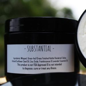 'SUBSTANTIAL' Tallow Lotion for DRY Skin