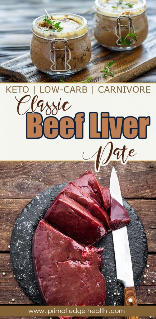 Classic Beef Liver Pate PIN