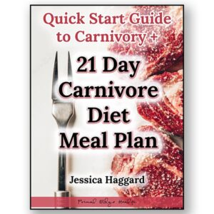 Quick Start Guide to Carnivory with 21 Day Carnivore Diet Meal Plan