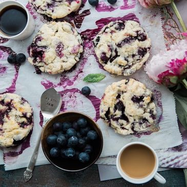 featured low-carb blueberry scones recipe