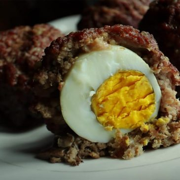 keto scotch eggs beef featured image