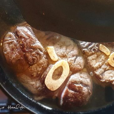 Easy Braised Beef Shank featured