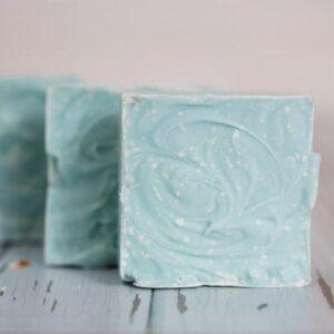 Sea Salt Soap with Coconut Oil