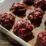 Easy Beef Heart Meatballs