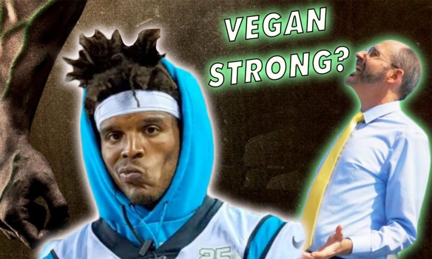 cam newton vegan strong podcast primale edge health