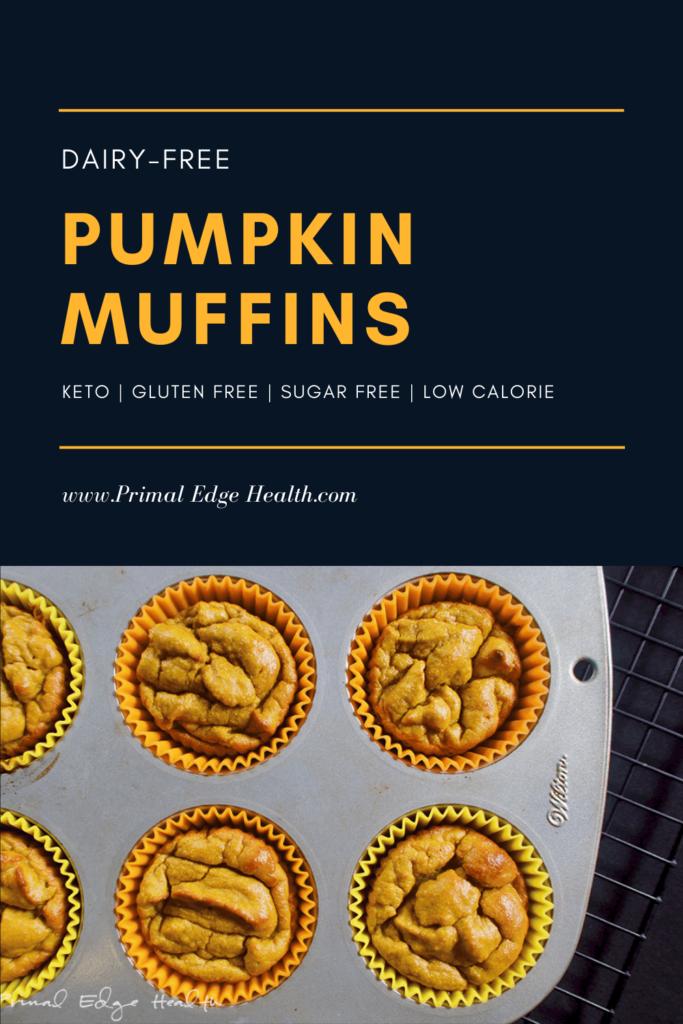 dairy free pumpkin muffins keto easy gluten free1