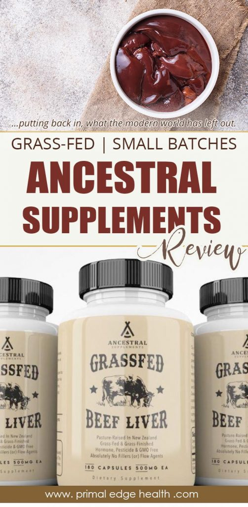 Ancestral supplements review PIN