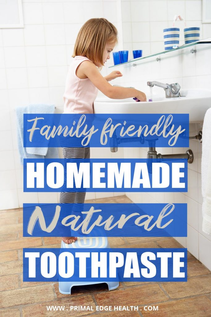 Homemade toothpaste recipe Family friendly PIN