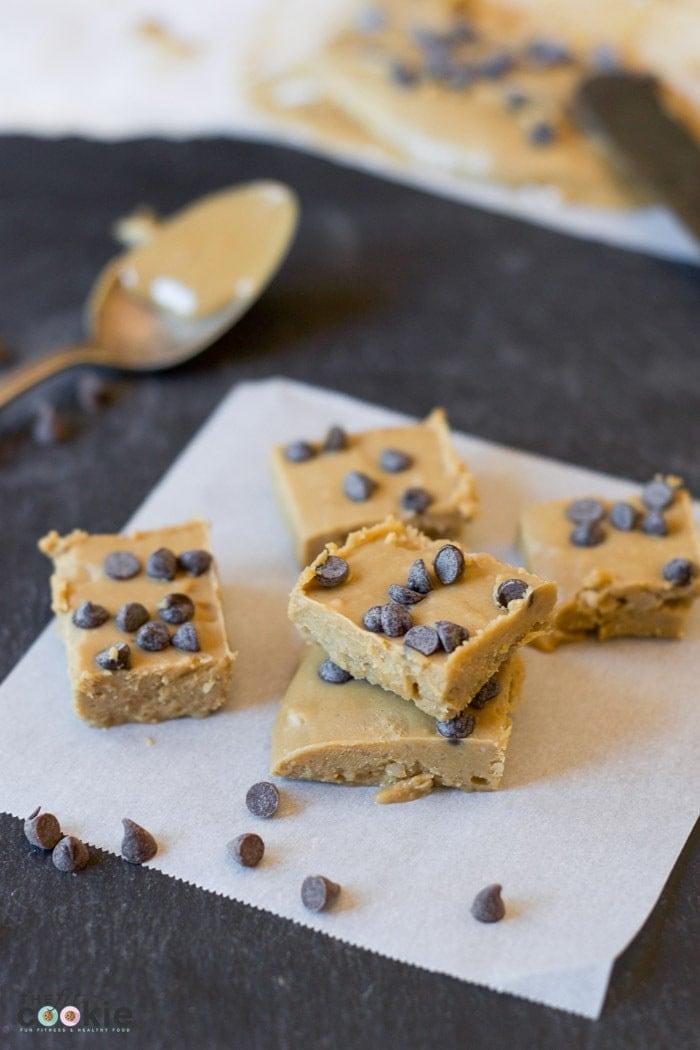 SunButter Chocolate Chip Fudge Recipe
