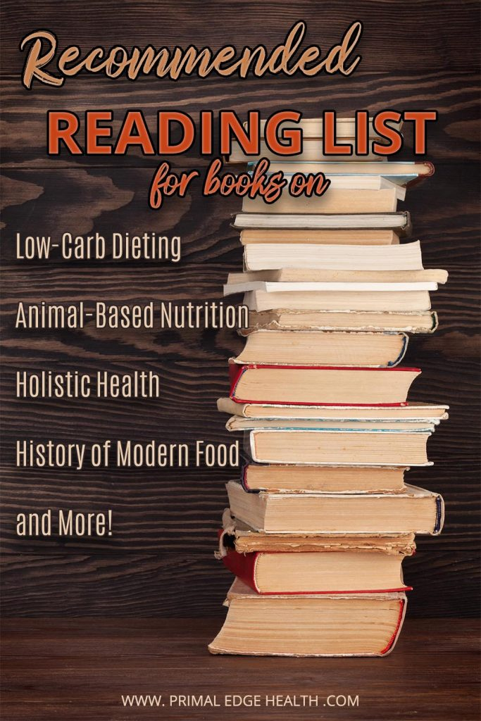 primal edge health reading list keto carnivore diet animal based nutrition