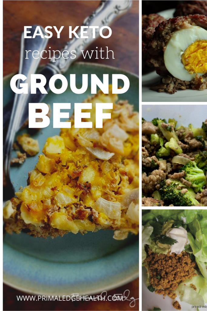 Easy keto ground beef recipes