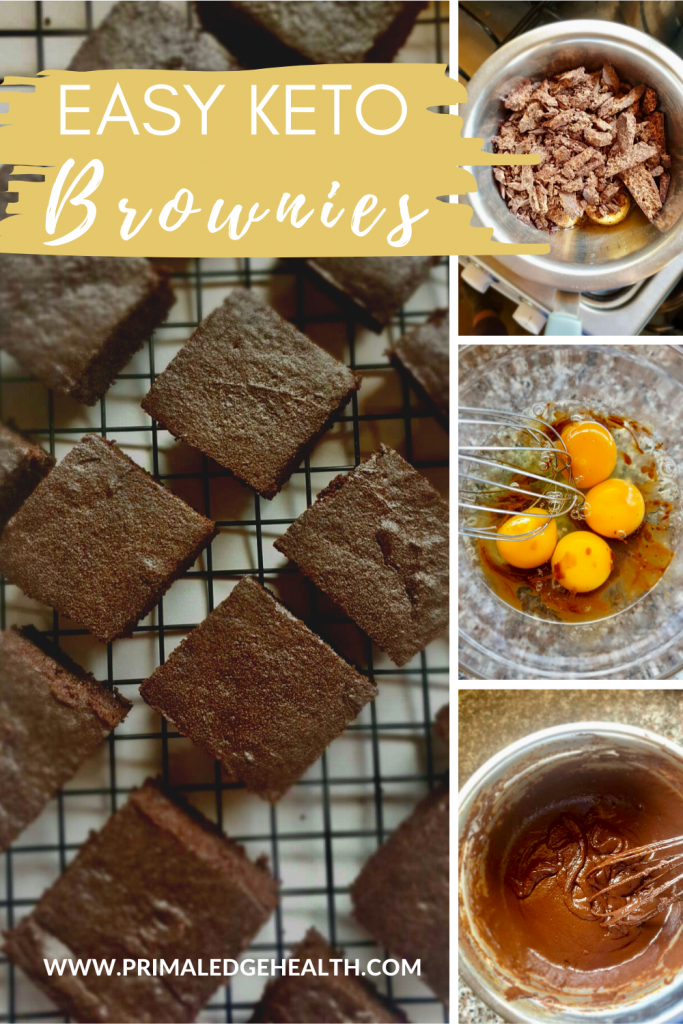 Flourless keto brownies recipe easy steps