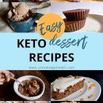 easy keto chocolate cakes brownies ice cream cookies