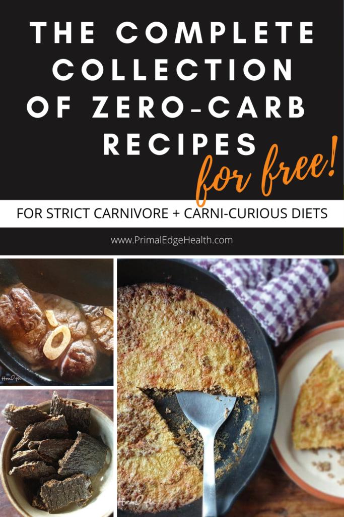 free collection zero carb keto carnivore diet recipes