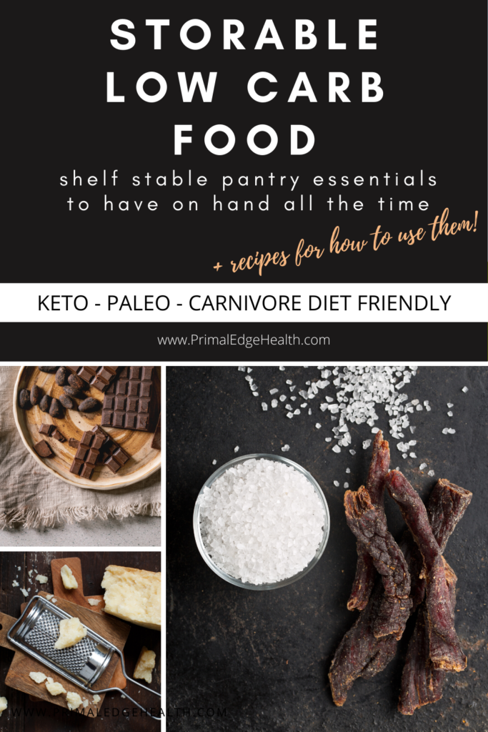 low carb keto foods backpacking camping travel to go