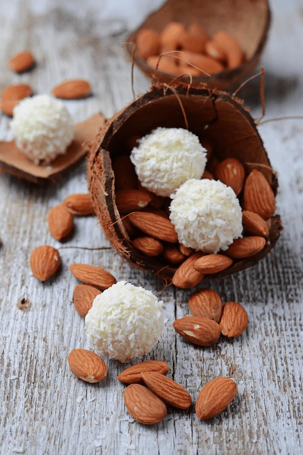 quick easy coconut keto fat bomb sugar free with stevia