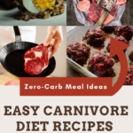 zero carb meal ideas carnivore diet