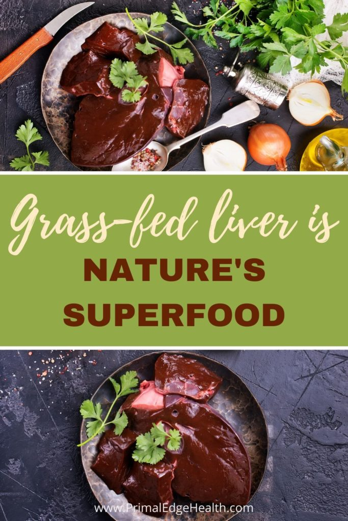 grass fed beef liver superfood nutrient dense