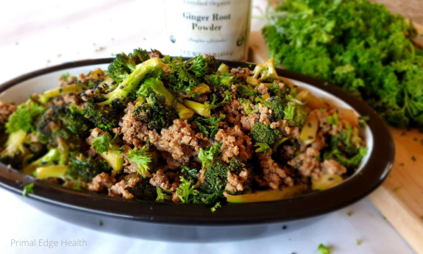 keto ground beef and broccoli recipe dairy free