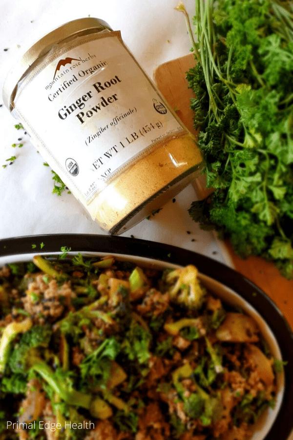 keto ground beef broccoli paleo gluten free whole 30 sugar free 1