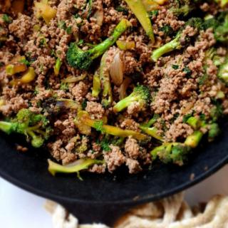 keto ground beef broccoli paleo gluten free whole 30 sugar free 2