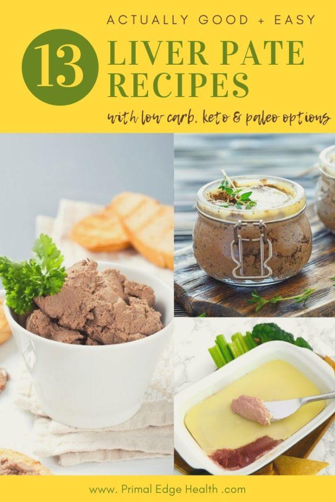 dairy free no alcohol liver pate recipes healthy