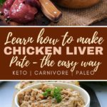 how to make chicken liver pate recipe