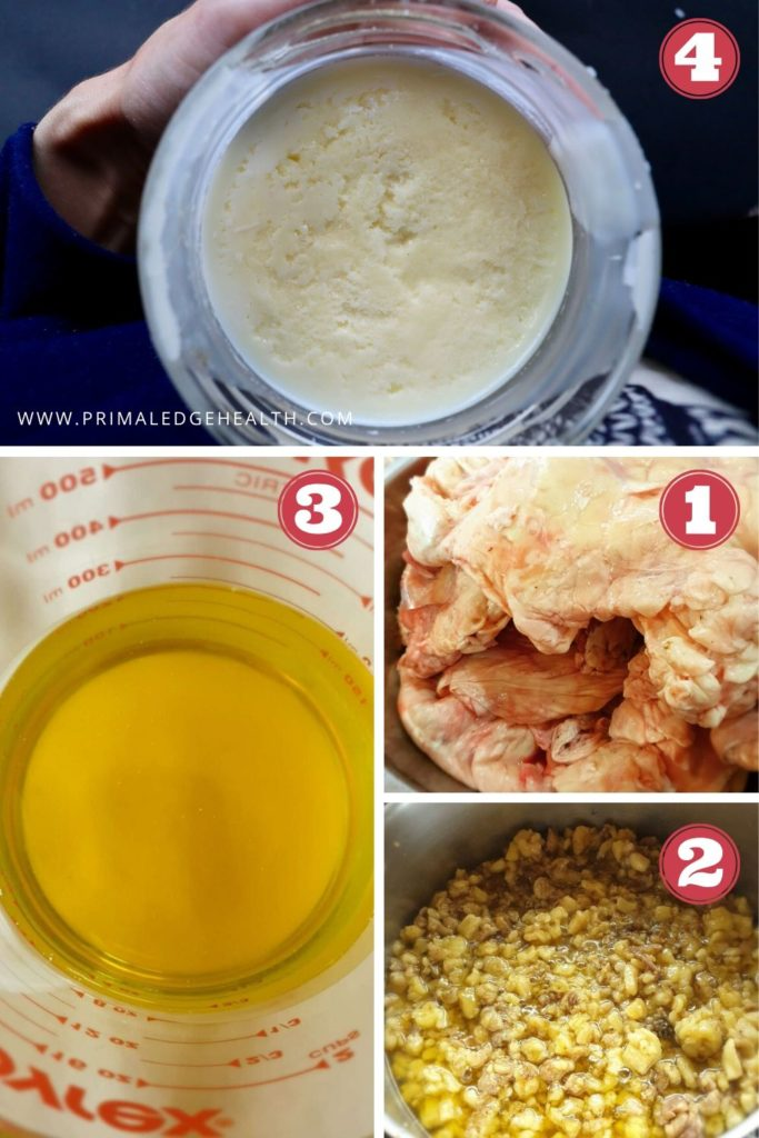 how to make tallow step by step process