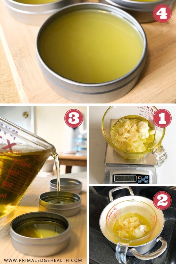 how to make tallow moisturizer step by step process