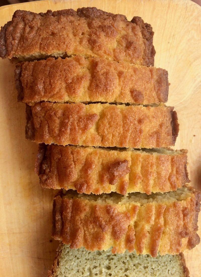 sliced keto sandwich bread