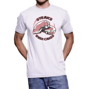 Steaks over Cakes MEN's Tee