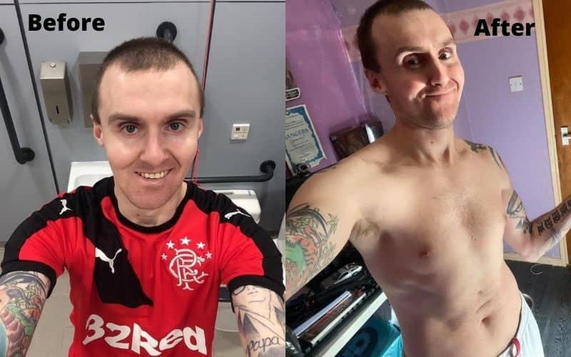 tofu tommy before after veganism