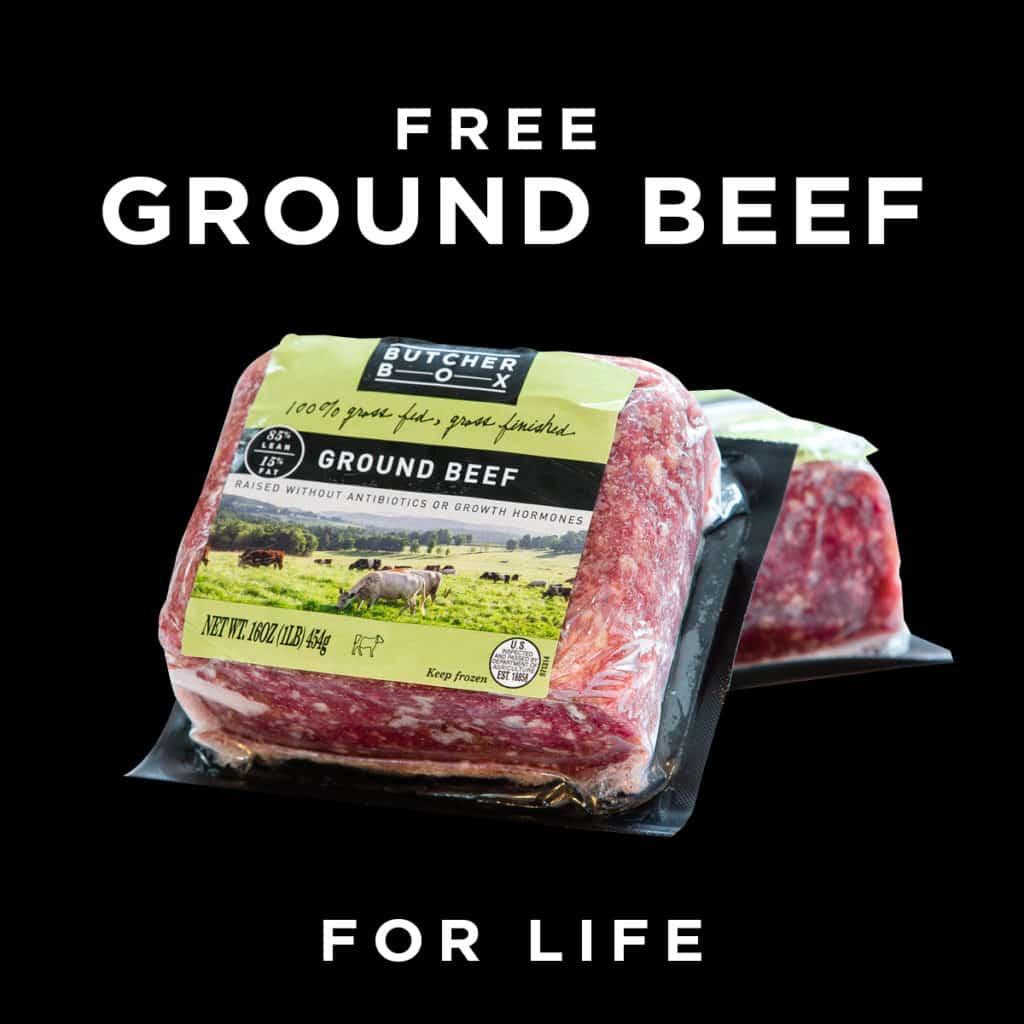 butcher box ground beef deal