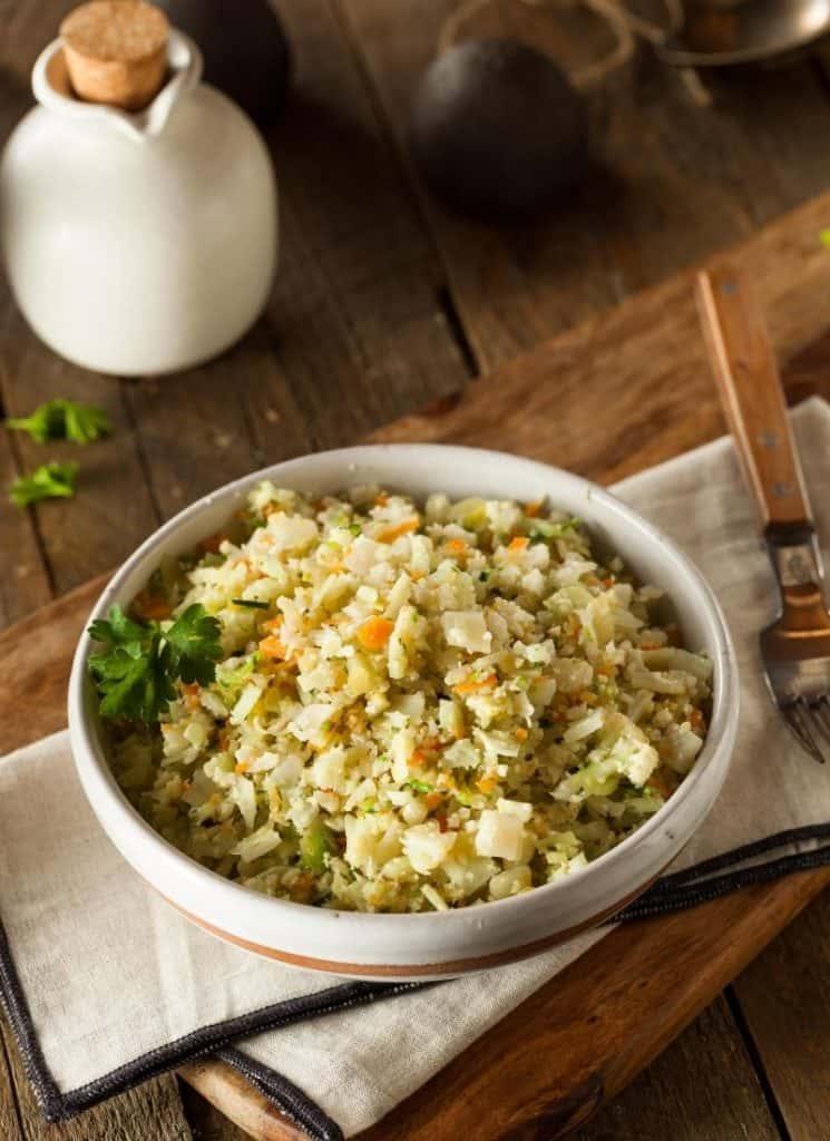 easy keto cauliflower rice recipe