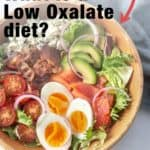 Getting started with low oxalate food list