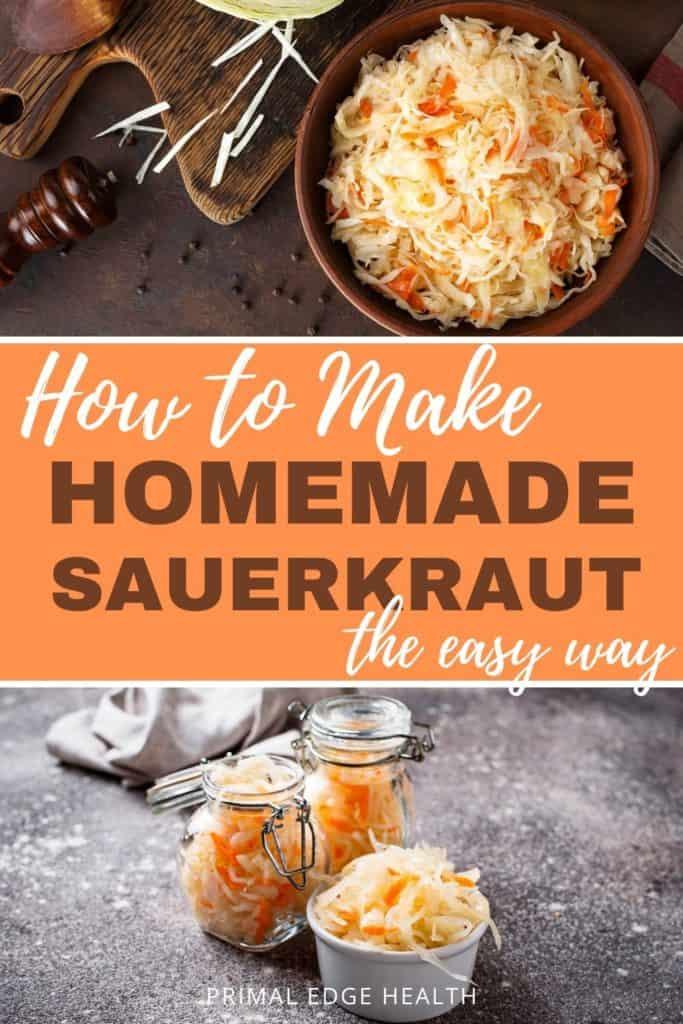 Easy Homemade Sauerkraut Recipe
