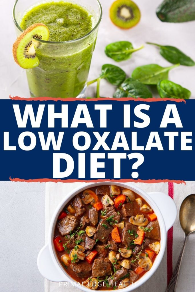 What is a low oxalate diet how to start