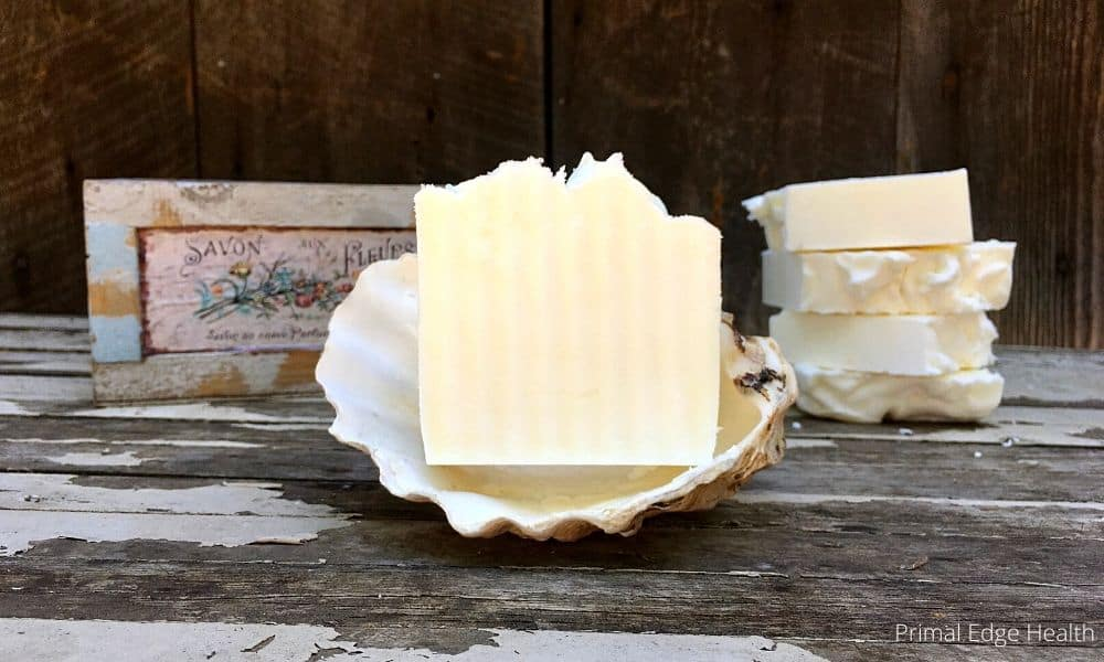 how to make tallow soap recipe