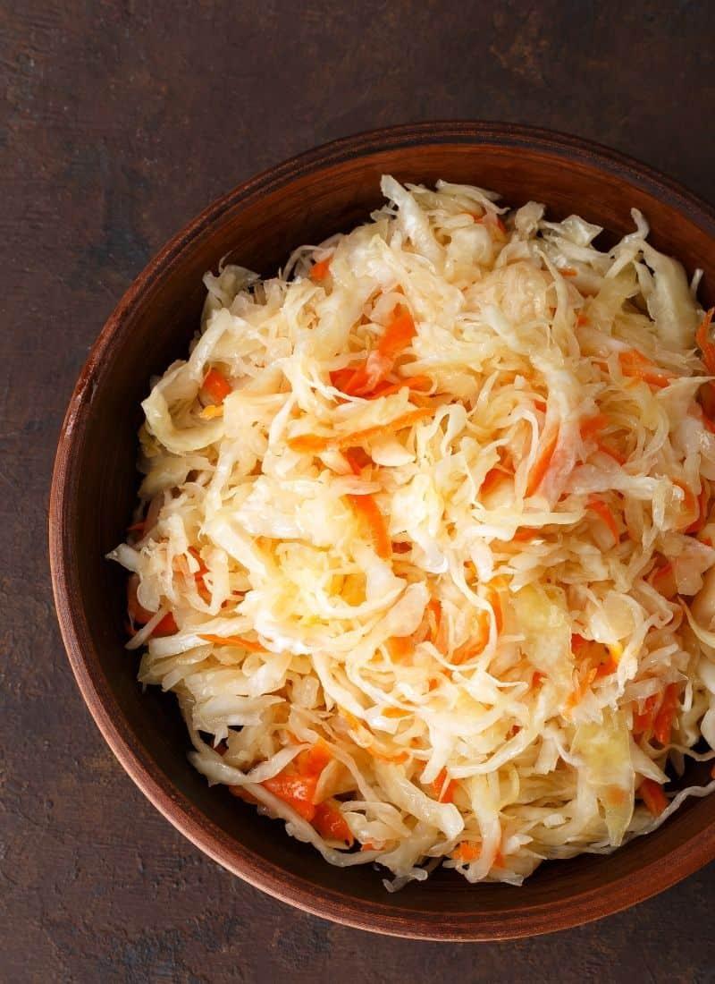 raw sauerkraut recipe