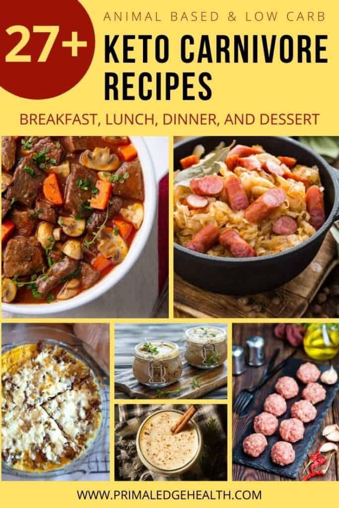 Easy Animal Based Recipes
