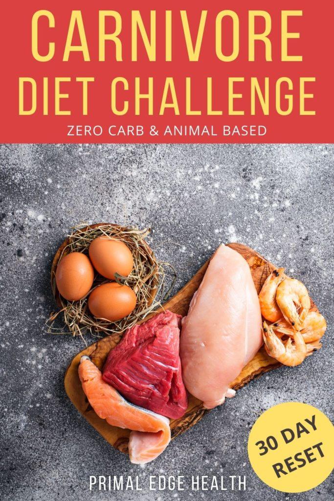 printable PDF carnivore diet challenge list
