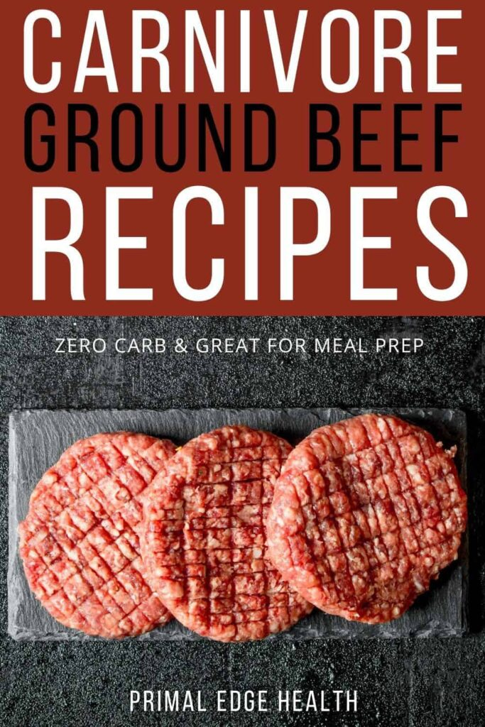 Carnivore diet recipes with ground beef